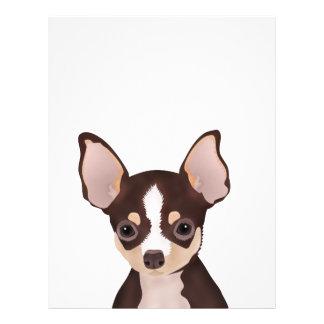 Chihuahua-Cartoon Flyer