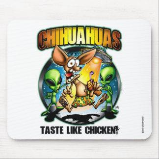 Chihuahua-Geschmack mögen Huhn-Mausunterlage Mousepads
