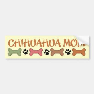 Chihuahua-Hundemamma-Autoaufkleber Autoaufkleber