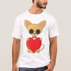 Chihuahua-Valentinsgruß T-Shirt