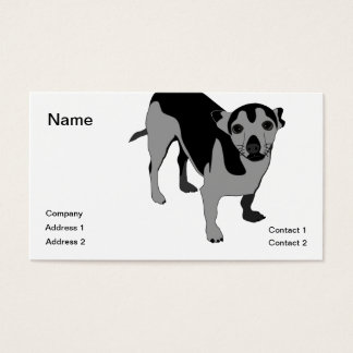 Chihuahua Visitenkarte