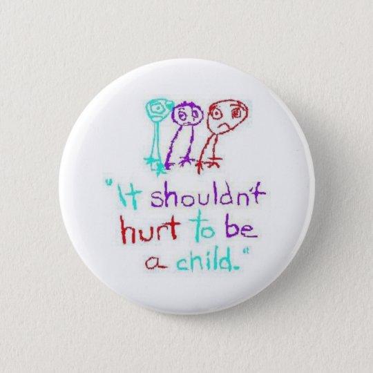 ChildAbusePrevention Runder Button 5,1 Cm