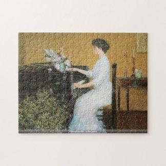 Childe Hassam - am Klavierpuzzlespiel