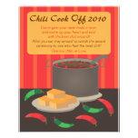 Chili-Koch weg von Announcment Flyer