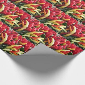 Chili-Pfeffer-Verpackungs-Papier Geschenkpapier