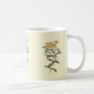 Chili-Ringelblumen-botanische Illustration Kaffeetasse