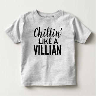Chillian mögen ein Schuft-Kleinkind-Shirt Kleinkind T-shirt