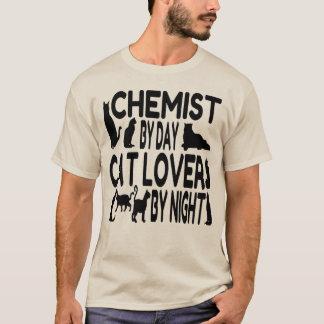 Chimiste d'amoureux des chats t-shirt