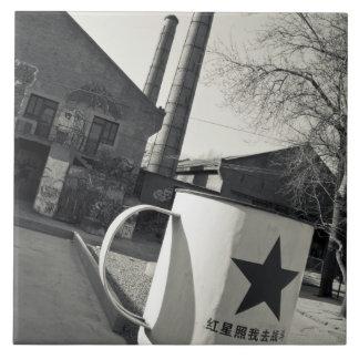 China, Bezirk Pekings, Chaoyang. Dashanzi 798 2 Fliese