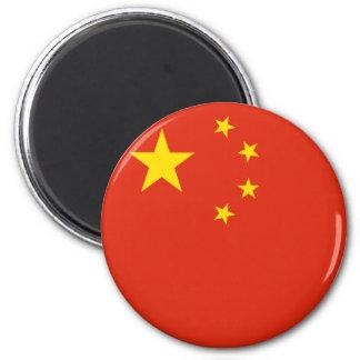 China-Flaggen-Magnet Runder Magnet 5,7 Cm
