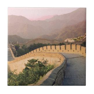 China, Huairou Landkreis, Sonnenuntergang Keramikfliese
