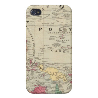 China Ost. Inseln Australien und Oceanica iPhone 4/4S Cover