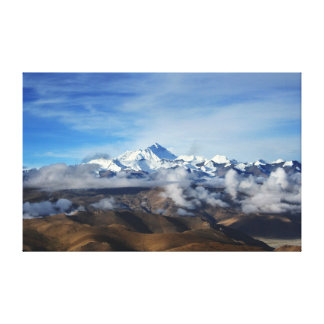 China-Reise-Foto Tibets Qomolangma Mt Everest Leinwanddruck