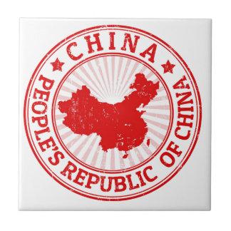Chinakarte Fliese