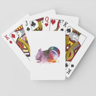 Chinchilla Spielkarten