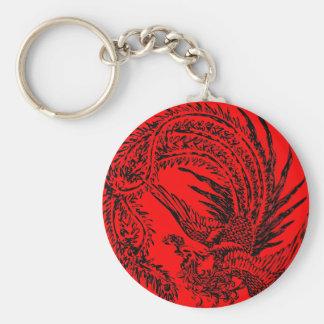 Chinese Phoenix Keychain Schlüsselanhänger
