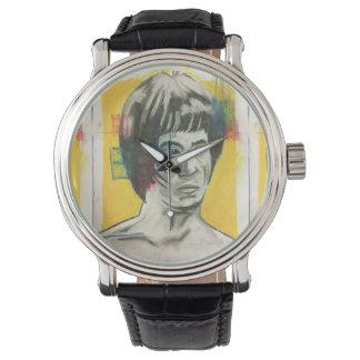 Chinesische Boxer-Kunst Uhr