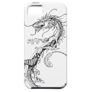 Chinesische Drache-Illustration Tough iPhone 5 Hülle