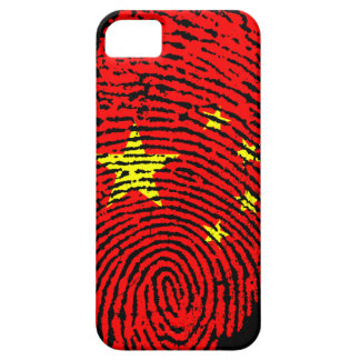 Chinesische Fingerabdruckflagge iPhone 5 Hülle