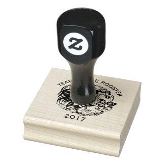 Chinesische Gummi-Briefmarke des papercut Gummistempel