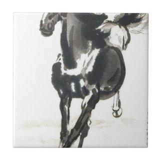 Chinesische Kunst - Pferde Fliese