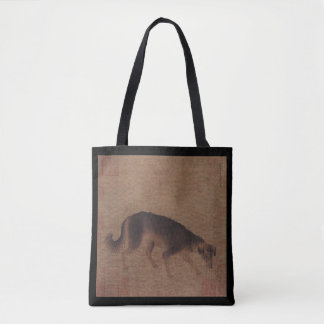 Chinese Painting of Dog Chinese New Year 2018 Bag