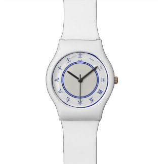 Chinesische Zahl-Uhr Armbanduhr