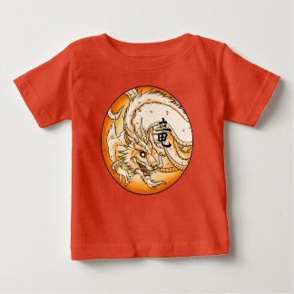 Chinesischer Drache-Baby-Geldstrafe-Jersey-T - Baby T-shirt
