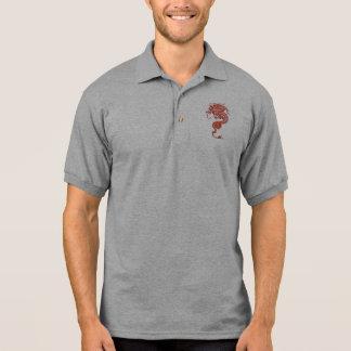Chinesischer Drache Polo Shirt