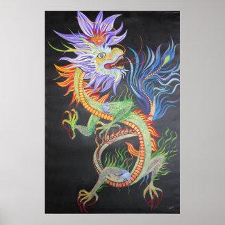 Chinesischer Drache Poster