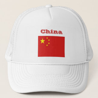 Chinesischer Hut Truckerkappe