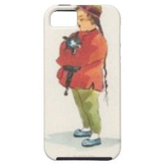 Chinesischer Junge und Spielkamerad iPhone 5 Cover