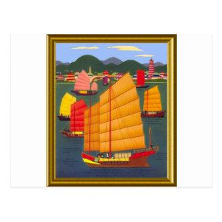 Chinesischer Kram Postkarte