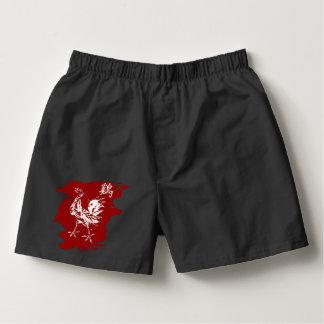 Chinesischer Tierkreis-Hahn Herren-Boxershorts