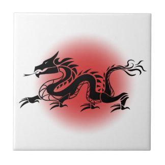 Chinesischer traditioneller Drache Keramikfliese