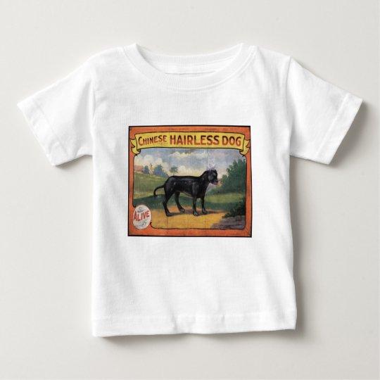 Chinesischer unbehaarter Hund Baby T-shirt