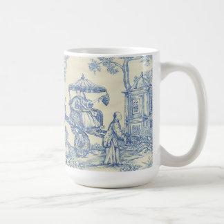 Chinesisches blaues Toile Tasse