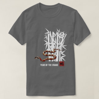 Chinesisches Jahr des Schlangen-T - Shirt