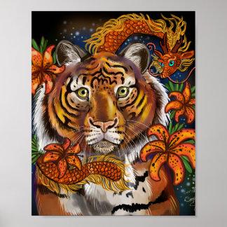 Chinesisches Jahr des Tigers Poster