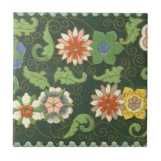Chinesisches Muster-Vintager MusterCloisonne Keramikfliese