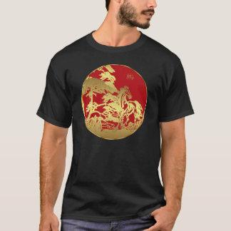 Chinesisches neues Jahr-T - Shirt-Jahr des Pferds T-Shirt