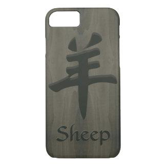 Chinesisches Symbol-Imitat Schaf-Ziegen-RAMYang iPhone 7 Hülle