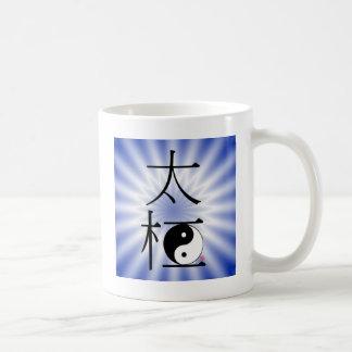 Chinesisches Tai-Chi Ying Yang Licht Kaffeetasse
