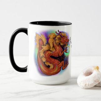 Chinesisches Tierkreis-Jahr des Drachen Tasse