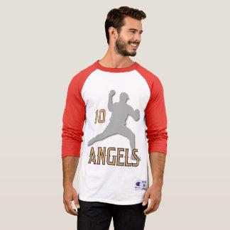 Chino- Hillsengel 3/4 HülseRaglan T-Shirt