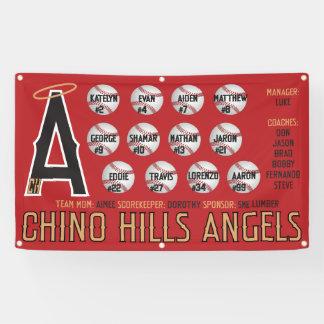 Chino- Hillsengels-Fahne Banner
