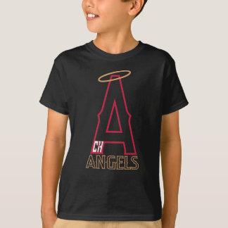 Chino- Hillsengels-Jugend-Schwarz-Shirt T-Shirt