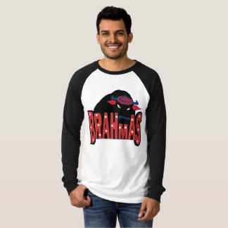 Chino-Tal Brahmas langer Hülseraglan-T - Shirt