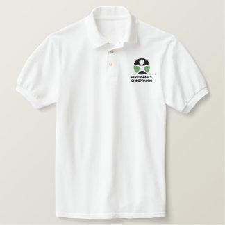 Chiropraktik-Logo gesticktes Polo-Shirt