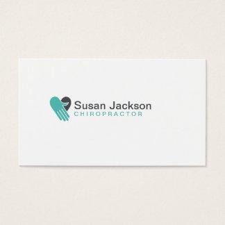 Chiropraktik-Visitenkarte Visitenkarte